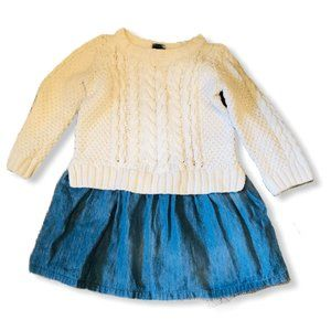 Gap Kid's Sweater Dress 3 Years